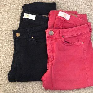 Gently worn Zara women's jeans